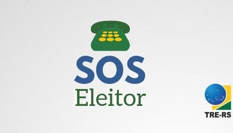 SOS Eleitor está disponível para esclarecer dúvidas sobre as eleições