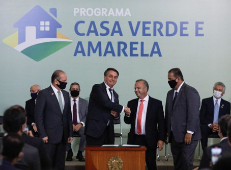 Com juro menor, governo lança novo programa habitacional, o Casa Verde e Amarela