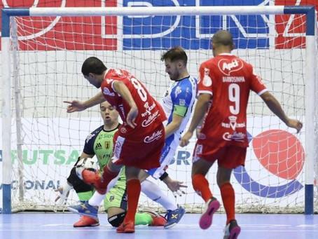 Atlântico perde para o Pato e se despede da Liga Nacional de Futsal