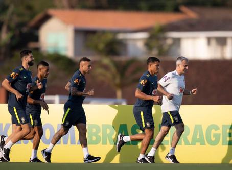 Seleção brasileira estreia nas Eliminatórias da Copa do Mundo de 2022 na próxima sexta (9)