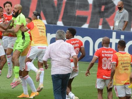 Se vencer o Bragantino, Inter pode estabelecer recorde na era de pontos corridos do brasileirão