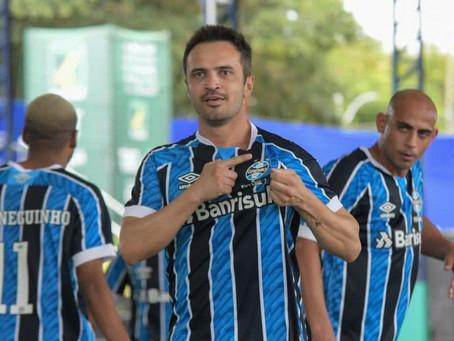 Com três de Falcão, Grêmio goleia em estreia na Liga Fut7 Nacional