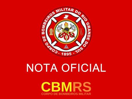 Bombeiros alertam para golpe envolvendo o nome da instituição