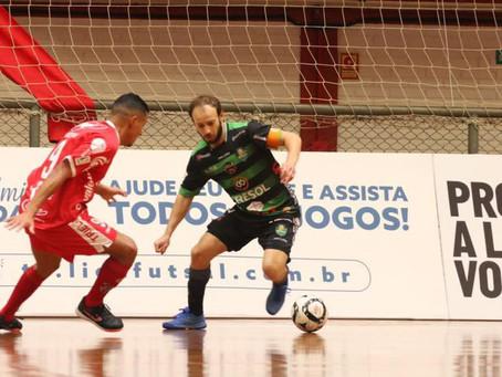 Oitavas de final da Liga Nacional de Futsal estão definidas; Atlântico enfrenta o Pato-PR