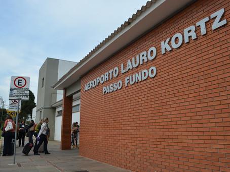 Governo do RS aprova programa de concessão do aeroporto Lauro Kortz