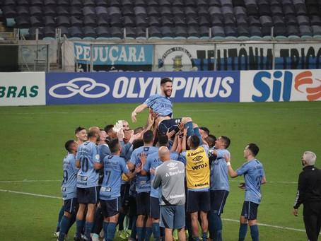 Marcelo Oliveira se aposenta como jogador e será coordenador técnico do Grêmio