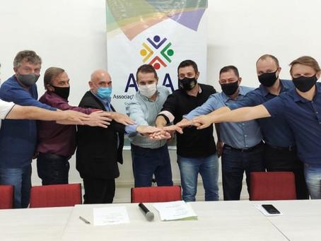 Prefeito de Erechim, Paulo Polis, é eleito o novo presidente da AMAU