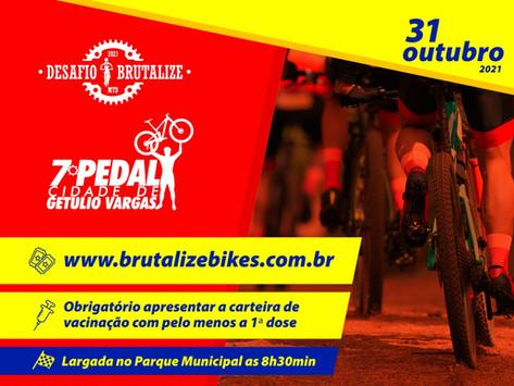 OLHO VIVO | 18/10/2021 | Desafio Brutalize 2020/21 e 7º Pedal Cidade de Getúlio Vargas