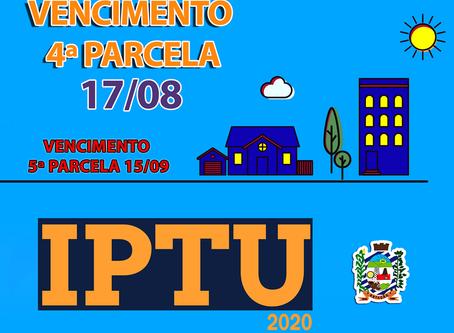 Estação: penúltima parcela do IPTU vence na próxima segunda (17)