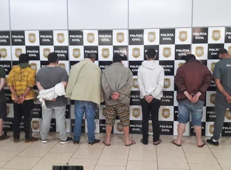 Operação Rajada II desarticula organização criminosa em Getúlio Vargas