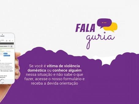 """SJCDH lança """"Fala, guria"""", para reduzir subnotificação de violência contra mulheres"""
