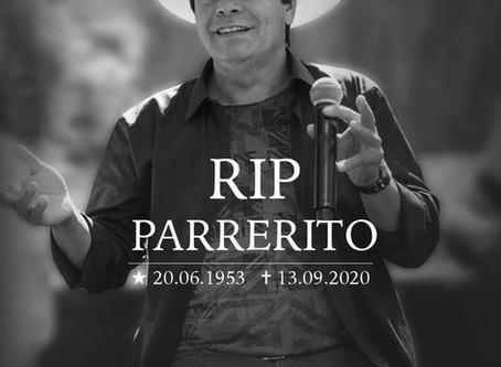 Parrerito, cantor do Trio Parada Dura, morre após complicações causadas pelo novo coronavírus