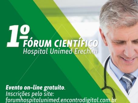 OLHO VIVO | 22/10/2021 | 1º Fórum Científico Hospital Unimed de Erechim