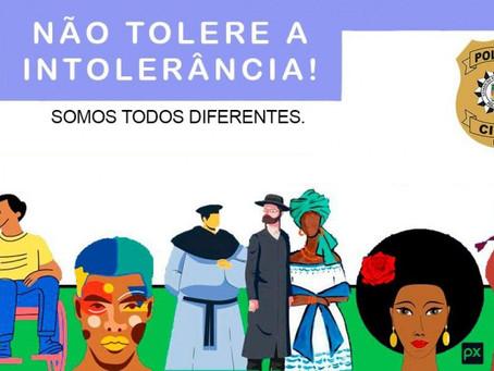 Polícia Civil do RS lança campanha contra crimes de intolerância