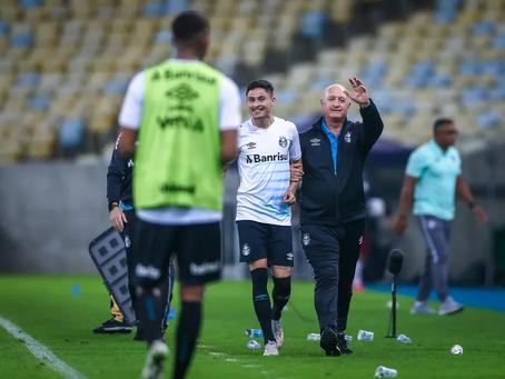 Grêmio vence Fluminense e sai da lanterna, mas ainda está a 3 pontos do último fora do Z-4