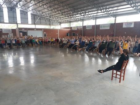 Grupos de Terceira Idade retomam atividades presenciais em Erebango