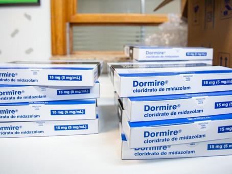 RS e Exército distribuem 92 mil frascos de medicamentos do kit intubação nesta terça (6)