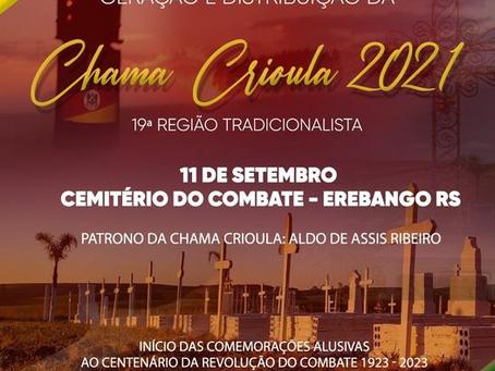 OLHO VIVO | Cemitério do Combate, em Erebango, irá sediar a geração e distribuição da Chama Crioula