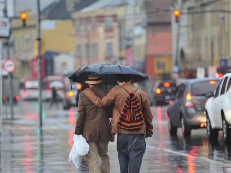 RS segue com chuva e frente fria avança nesta quarta-feira (08)