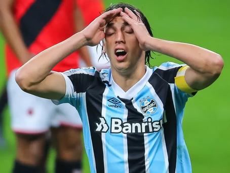 Lesionado, Pedro Geromel desfalcará o Grêmio por cerca de um mês