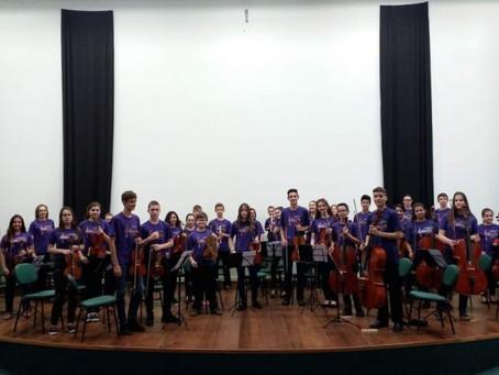Orquestra Sinfônica de Estação realiza Concerto de Aniversário do Município
