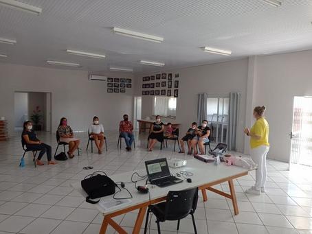 Erebango: curso de gestantes debate a importância da amamentação em segundo encontro