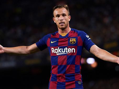 Segundo canal de TV, negociação entre Juventus e Barcelona por Arthur está concretizada