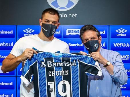 """Churín vê Grêmio como """"maior desafio da carreira"""""""