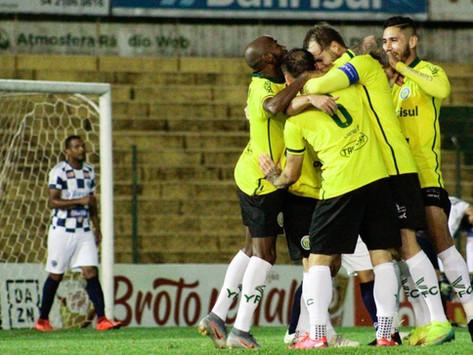 Ypiranga vence o São José e avança para segunda fase da Série C