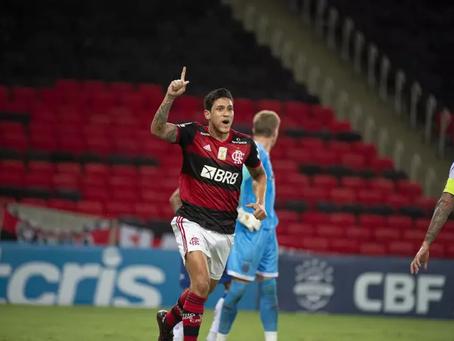 Em jogo atrasado, Flamengo vence Grêmio e vira vice-líder do Brasileirão