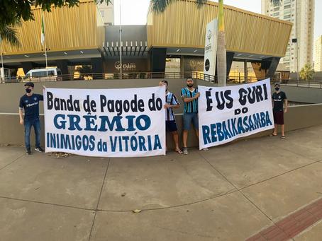 Sob pressão e protestos, Grêmio encara confronto direto para evitar disparada do Cuiabá