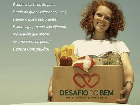 Rede de lojas promove campanha que doará cestas básicas às famílias cadastradas no CRAS