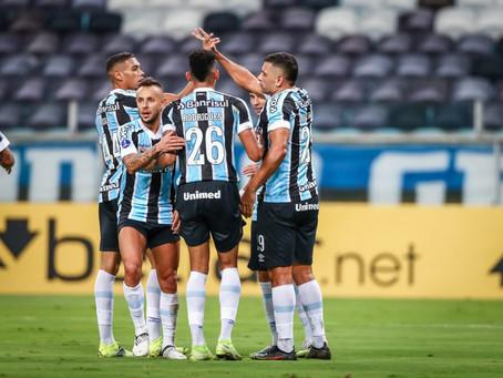 Grêmio estreia com vitória na Sul-Americana, por 2 a 1 em cima do La Equidad