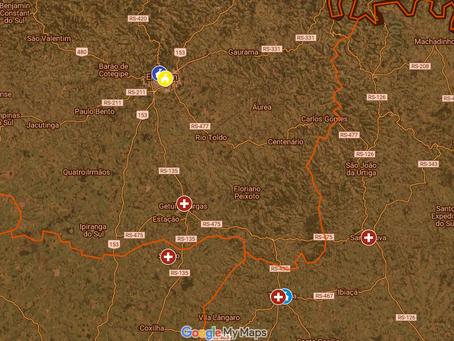 Mapa interativo facilita pesquisa por serviços de saúde mental