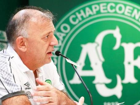 Presidente da Chapecoense morre vítima da Covid-19