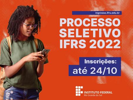 OLHO VIVO | 21/10/2021 | IFRS - Processo Seletivo 2022/1
