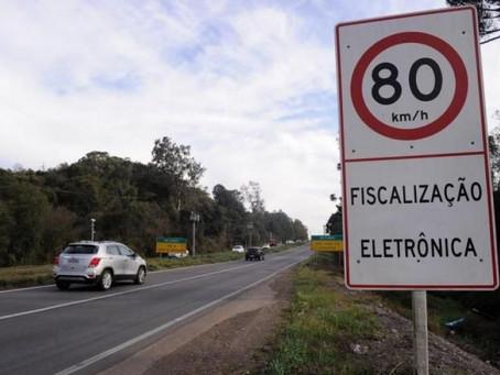 Pardais voltarão a funcionar nas rodovias estaduais gaúchas