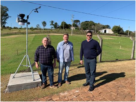 Getúlio Vargas e região passa a contar com Estação Meteorológica Automática