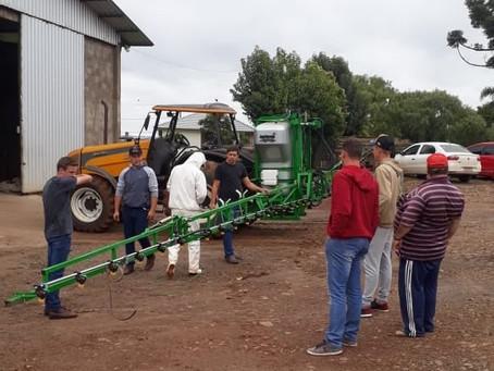 Floriano Peixoto realiza curso de NR-31- Aplicação correta e segura de defensivos agrícolas