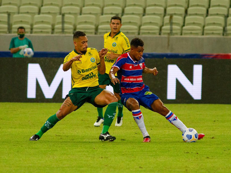 Ypiranga perde para o Fortaleza e está eliminado da Copa do Brasil