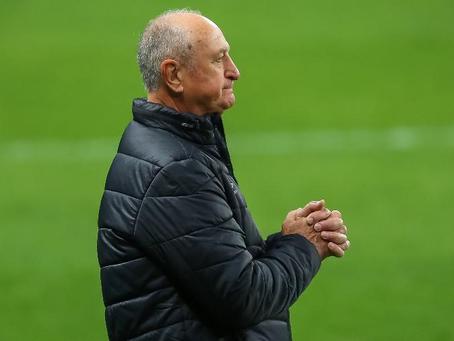 Felipão e comissão técnica deixam o Grêmio após derrota para o Santos
