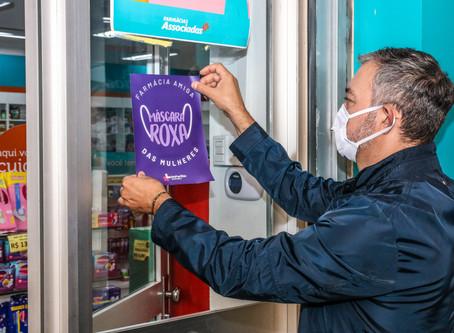 Farmácias da região farão parte da Campanha Máscara Roxa