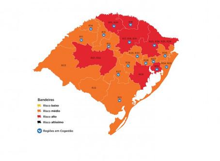 Mapa preliminar da 19ª rodada do Distanciamento Controlado recebe oito pedidos de reconsideração