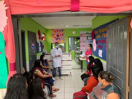 Erebango: mulheres indígenas participam de evento alusivo ao 'Outubro Rosa'