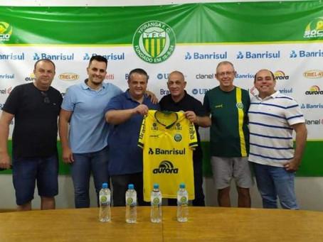 Série C: Ypiranga-RS apresenta novo treinador, que já trabalha com o elenco