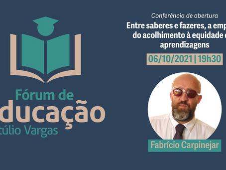 Fórum de Educação de Getúlio Vargas inicia nesta quarta-feira (06)