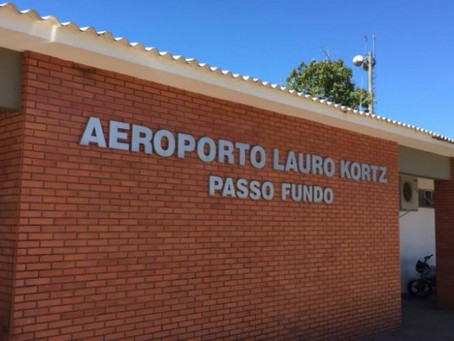 Governo publica edital para receber estudos de concessão do aeroporto de Passo Fundo