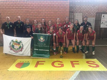 Time de Futsal feminino da IDEAU conquista Campeonato Estadual