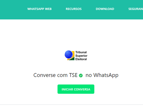 Conheça o 'Tira-Dúvidas Eleitoral no WhatsApp', assistente virtual da Justiça Eleitoral