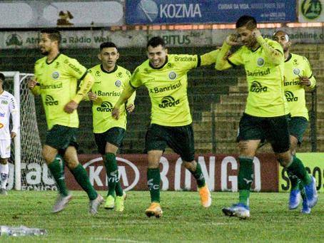 Ypiranga vence e assume a liderança na Série C do Brasileirão